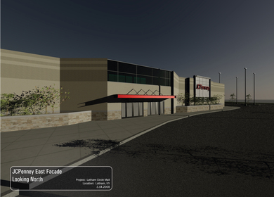 JC Penney Renderings - Latham, NY