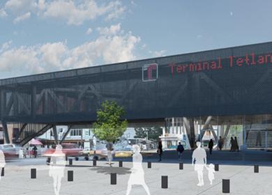 Tetlan Metro and Bus Terminal
