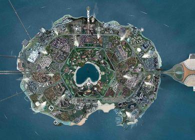 New Silk Roads: Global Island