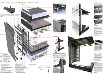 3D detail, 'Diesal store'