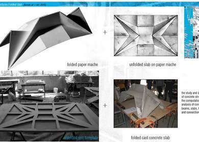 Structures Folded Slab