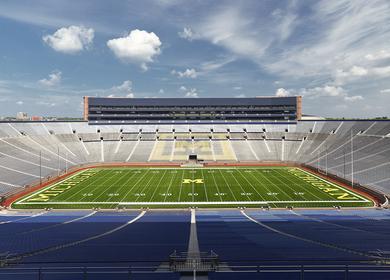 Michigan Stadium, University of Michigan – Ann Arbor, Michigan