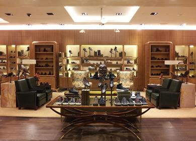Bergdorf Goodman Men's Shoe Library