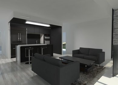 800sqft Shipping Container Conversion (Design Incomplete)