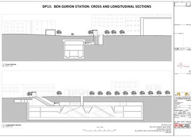 The Red Line - Ben Gurion Station