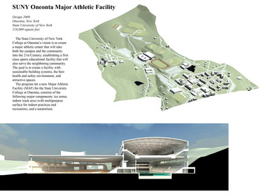 SUNY Oneonta Major Athletic Facility