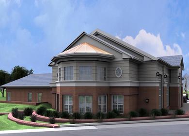 Wellness Center exterior view