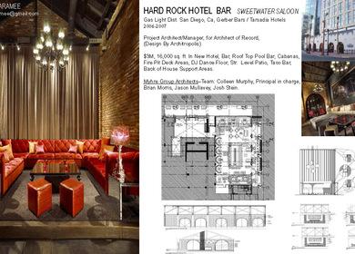 Hard Rock Hotel Lobby Bar & Pool Bar