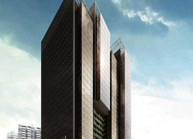 Renhe Spring Mixed-use Development begins construction