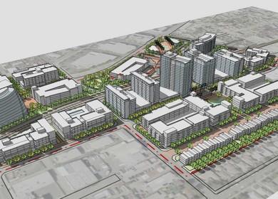 Santa Ana Train Station Depot Area Conceptual Design
