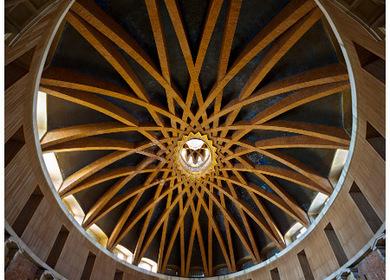 Elliptical dome of Laboral's Church