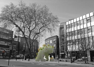 Mare Street, Triangle. Exhibition, Design