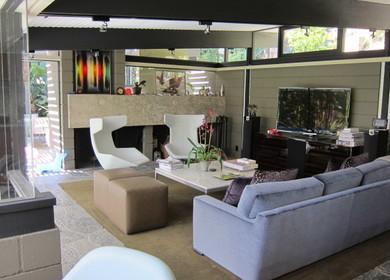 John Sjoberg Architect / Julius Shulman 1954 - Refurbishment Interiors + Exteriors