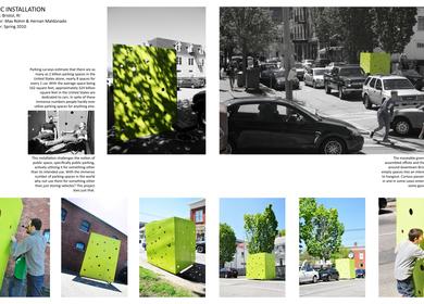 Public Installation (spring 2010)