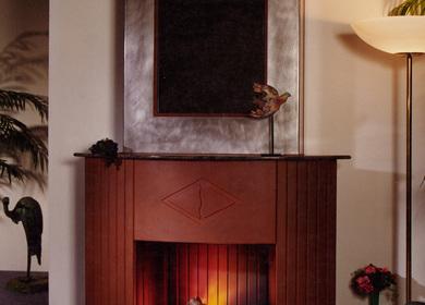 Art Deco fireplace / cheminée Art Déco