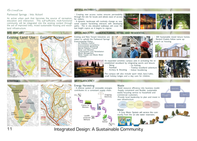 University of Sheffield - Integrated Design - A Sustainable Community