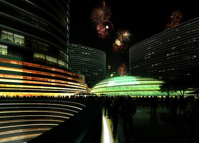 Aedas brought history to life in Xuzhou Suning Plaza, China