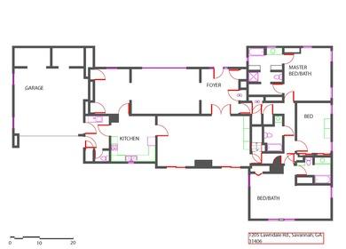 As Built Floor Plan