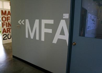 Design 09 MFA Exhibit