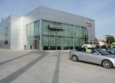 Keyes Audi New Dealership