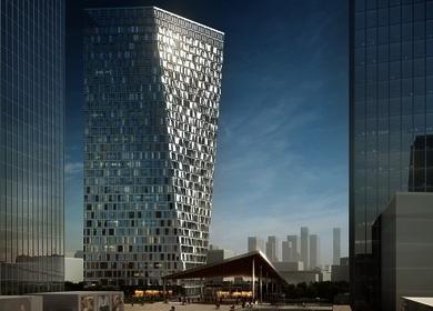 Aedas wins competition to design Xuhui Binjan Media City 188S-G-1 Tower and Podium