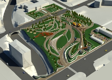 BIM Architectural Services for Civic Centre Parks