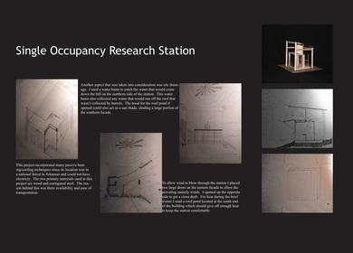 Single Occupancy Research Station