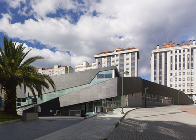 Sport Complex and Swimming Center in La Florida (Vigo. Spain) Estudio de Arquitectura NAOS