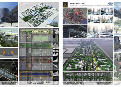 Krasnodar New Urban Plan