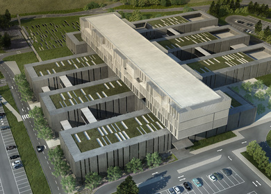 Barcelos hospital // Competition // Moerschel arquitectos + PMC arquitectos // Lisbon 2010