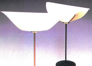 Tribute to Man Ray lamp 1976