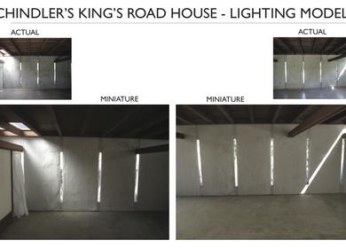 Kings Road House - Physical Light Model