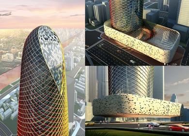Tianjin XiaoBaiLou Unity Tower