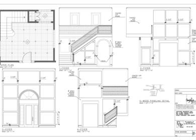 Detailed Interior Drawings