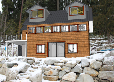Lake Wenatchee Cabin Re-build