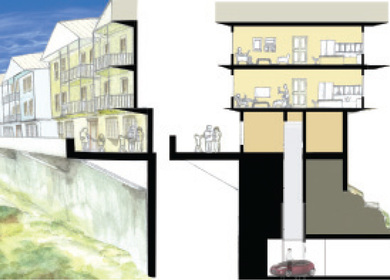 Mixed-Use Levee Building Project