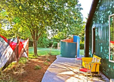 Lewes Delaware Outdoor Shower