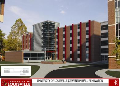 University of Louisville, Stevenson Hall (proposal)