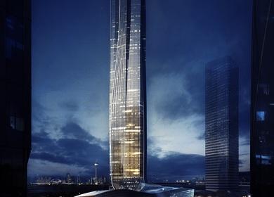Aedas designs a dragon-inspired high-rise tower in Zhuhai, China