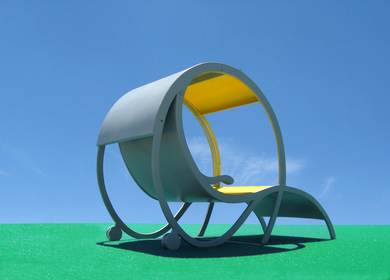 The Rolling Solar Recliner