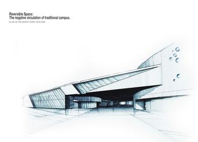 Da Lian Jiao Tong University Student Center Design