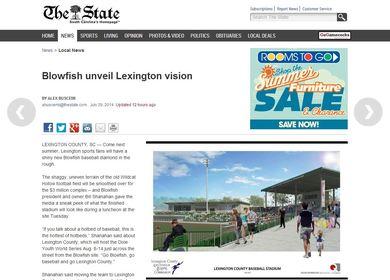 Lexington Blowfish Minor League Baseball Stadium