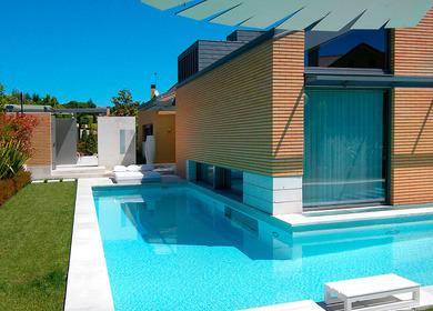 Bioclimatic house. El Encinar. Madrid.