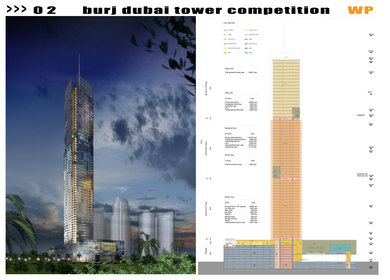 Burj Dubai Tower Competition