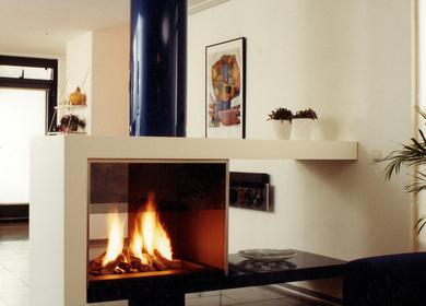 Modern fireplace / cheminée moderne