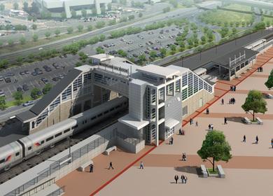Meadowlands Rail Station