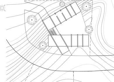 Residential Design for a Hillside Site