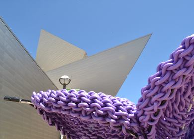 Denver Art Museum - In Bloom Installation