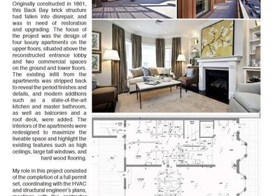 Historical Renovation: Luxury Apartments