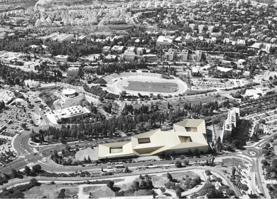 Israeli National Library - 1st Prize Competition